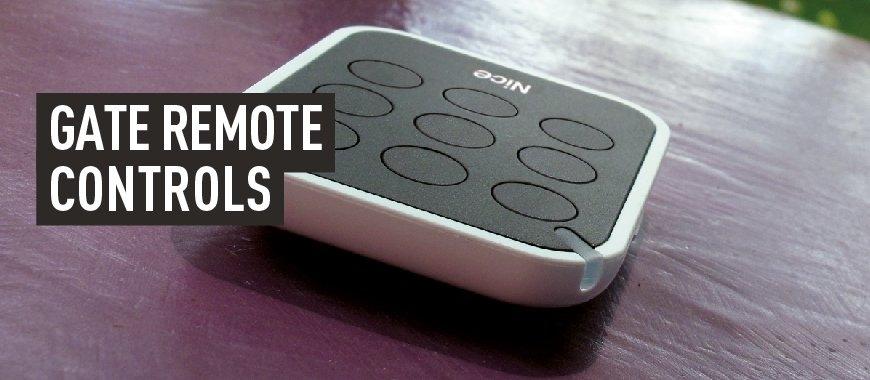 Gate Remote Controls