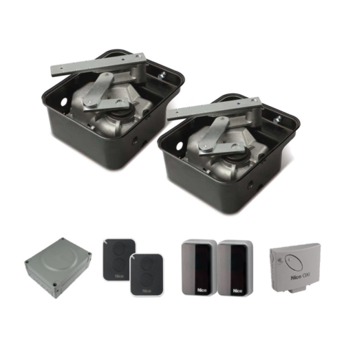 Nice two leaf underground kit for gates up to 3.5m per leaf 24v (M-Fab Kit 2)