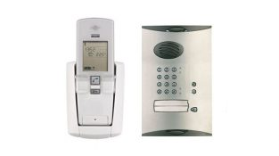 Daitem SC902AU Wireless Single Dwelling Intercom With Keypad & Swipe Tag