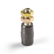 CN28 28mm diameter cylindrical nylon roller