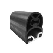 ASO 2.5m length 45mm profile resistive through safety edge