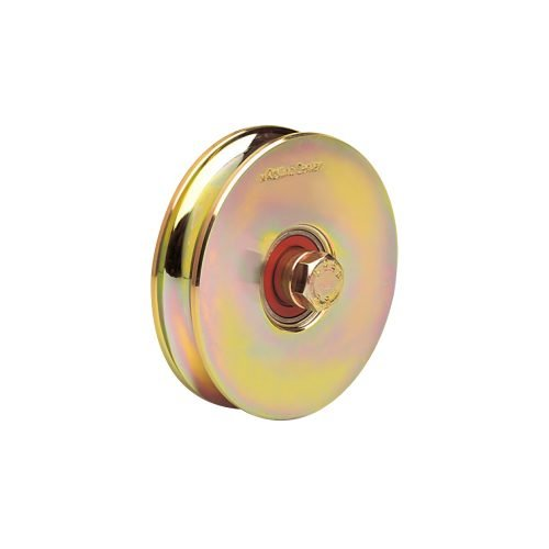 1227 O 120mm diameter o-groove wheel with one bearing