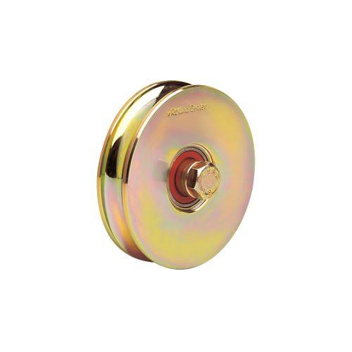 1227 O 120mm diameter o-groove wheel with one bearing