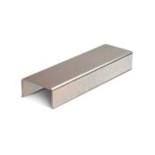 58/48 Z galvanised u-guide channel for sliding gates