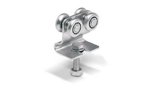 4 RC 4 wheeled carriage with bracket (stainless steel)