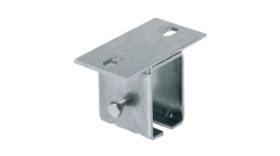 S 82 Z standard ceiling bracket for monorail fixing and adjustment