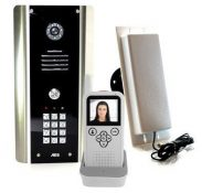 AES 705 ABK one way wireless video system with keypad