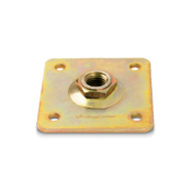 PR24 adjustable plate with nut