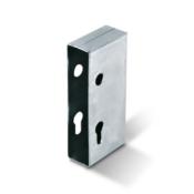 128/10 galvanised hook lock keep