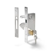 129 P small galvanised hook lock