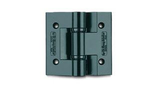 CRN1A light alloy black varnished hinge
