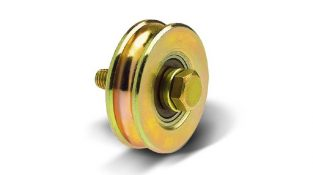 518 O o-groove pulley with one bearing for truck trailers