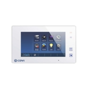 "CDVI CDV47 white 7"" colour LCD touch screen monitor"