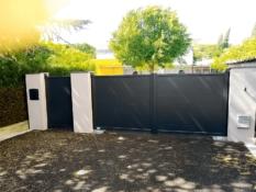 Aluminium driveway gates - Accord Jersey