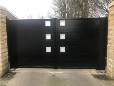 Aluminium driveway gates - Accord Guernsey