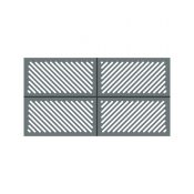 La Toulousaine Creation Golinhac aluminium gate