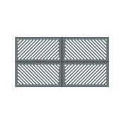 La Toulousaine Creation Escalquens aluminium gate