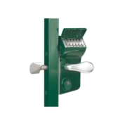 Locinox LLKZ sliding gate lock with codelock for 40mm box section
