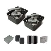 Nice two leaf high speed underground kit for gate up to 3.5m per leaf 24v (M-FabHS Kit 1)