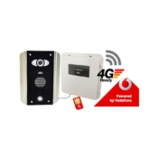 AES PRE2-4GE/AB architectural model 4G GSM video intercom kit without keypad