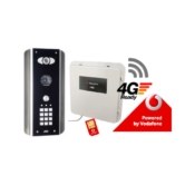 AES PRE2-4GE/ABK architectural model 4G GSM video intercom kit with keypad