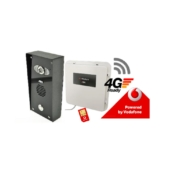 AES PRE2-4GE/IMP shrouded imperial model 4G GSM video intercom kit without keypad