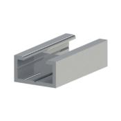 ASO AL25-14 aluminium profile for 30mm safety edge rubber