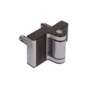 Locinox Puma compact 2-way adjustment 180° surface mounted hinge