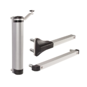 Locinox Lion compact hydraulic gate closer for any gate situation