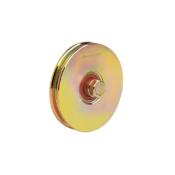 618 U 60mm diameter u-groove normal wheel with one bearing