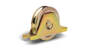 1227 PSO o-groove wheel with support and two bearings
